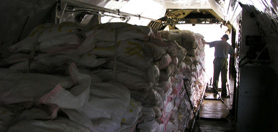 Since 2015 our company provided certified equipment and specialists for the UN Red Cross in order to free dropping of humanitarian cargo