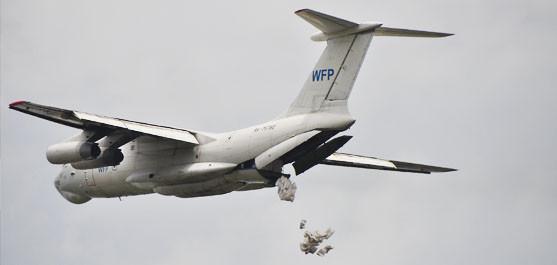С 2015 г. Наша Компания обеспечила сертифицированным оборудованием и специалистами работу на самолетах Ил-76 по беспарашютному сбросу гуманитарных грузов в интересах WFP UN на территорию Республики Южный Судан